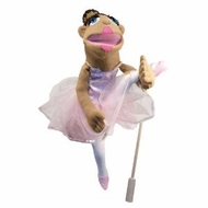 Melissa and Doug 3895 Ballerina Full-Body Puppet - click to enlarge