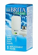 BRITA 42401 Replacement Filter Cartridge (Single White) - click to enlarge