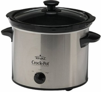Rival 3040 4 Quart CrockPot Slow Cooker - click to enlarge
