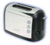 DeLonghi CT52 Chrome 2-Slice Toaster