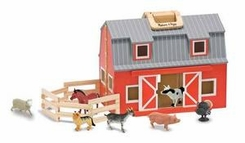Melissa & Doug 3700 Fold & Go Barn - click to enlarge