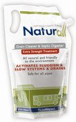 Naturall 32DP Extra Strength Drain Cleaner Pouch 32oz