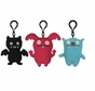 UglyDoll Set of Three Clips: Big Toe, Uppy, Black Ice-Bat