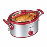 Hamilton Beach 33254H 5 Quart Slow Cooker - click to enlarge