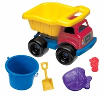 American Plastic Truck Full of Toys - click to enlarge