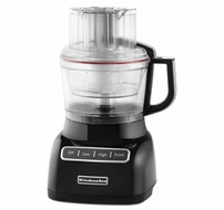 KitchenAid KFP0922OB 9-Cup Food Processor, Onyx Black - click to enlarge