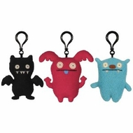 UglyDoll Set of Three Clips: Big Toe, Uppy, Black Ice-Bat - click to enlarge