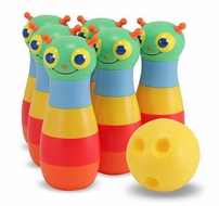 Melissa and Doug #6157 Happy Giddy Bowling Set - click to enlarge