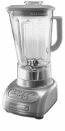 KitchenAid KSB560SM 5-Speed Blender with Polycarbonate Jars, Silver Metallic - click to enlarge