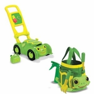 Melissa and Doug Tootle Turtle Mower And Tootle Turtle Tote Bundle - click to enlarge