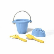 Green Toys Sand Play Set, Blue : Made in America - click to enlarge