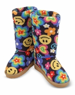 Melissa&Doug MAD7258 Rainbow Razzle Boot Slippers (XL) - click to enlarge