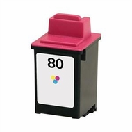 Lexmark 12A1980 Color Inkjet Print Cartridge - click to enlarge