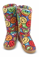 Melissa&Doug MAD7267 Lizzy Boot Slippers (S) - click to enlarge