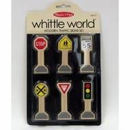 Melissa and Doug Whittle World - Traffic Signs Set - click to enlarge