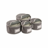 Richards Homewares Micro Fiber Deluxe Plate Case Set of 4 - click to enlarge