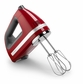 KitchenAid KHM720ER 7-Speed Digital Hand Mixer, Empire Red
