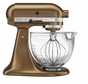 KitchenAid KSM155GBQC Artisan Design 5-Quart Stand Mixer, Antique Copper