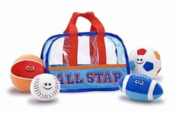 Melissa and Doug #3053 Sports Bag Fill and Spill - click to enlarge
