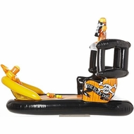 Banzai Pirate Ship Pool Float BLACK - click to enlarge