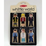 Melissa and Doug Whittle World - People at Work Set - click to enlarge