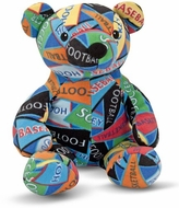 Melissa&Doug MAD7275 Zach Sports Bear - click to enlarge
