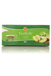 Tea4Life apple cinnamon herbal detox tea
