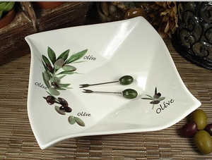 D'Lusso Olive Dish Wedding Favor
