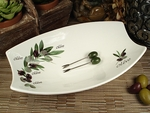 D'Lusso Olive Bowl & Forks Wedding Favor
