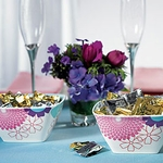 Foil Wrapped Mint Swirl Candies