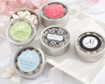 """Simply Sweet"" Round, Personalized Candy Tin (set of 12)"