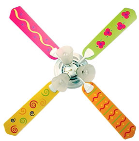 Out of Stock Popsicle Kids Ceiling Fan with Lights