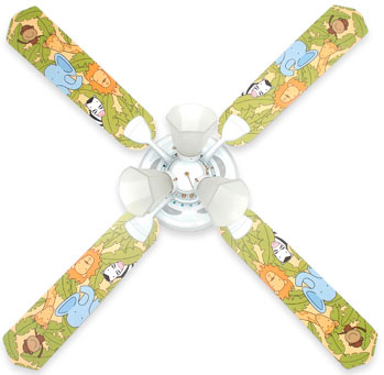 Out of Stock Jungle Animals Baby Ceiling Fan with Lights