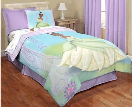 Princess and The Frog Twin Comforter
