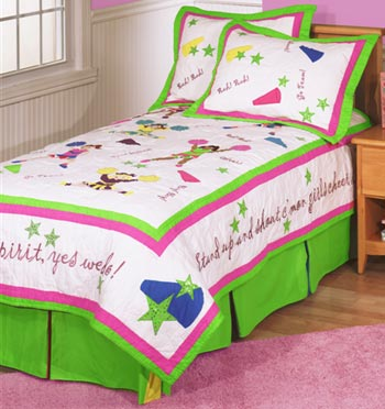 Team Spirit 4-Piece Twin Bedding Set by Anna Claire