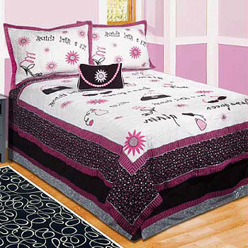 It's A Girl Thing! 4 Piece Twin Bedding Set by ZZ Baby