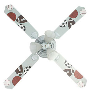 Out of Stock All Star Sports Kids Ceiling Fan with Lights