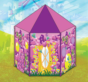 Dancing Fairies Girls Castle Play Tent