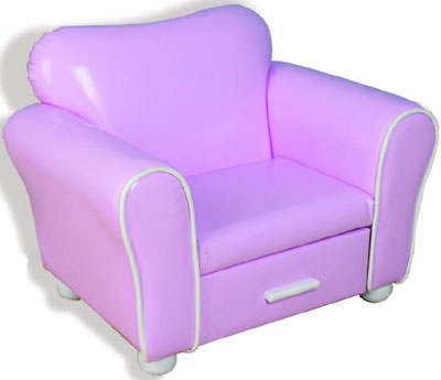 Girl's Lounge Chair - Pink
