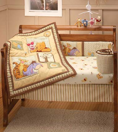 Pooh Dreams Of Hunny Baby Crib Bedding By Disney Baby