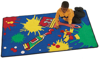 Paint Child's Activity Carpet