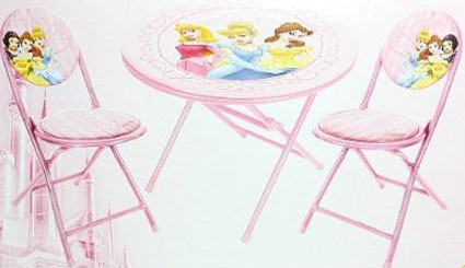 Disney Princess Folding Table And Chairs Set Children S