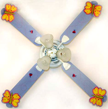 Out of Stock Butterflies Children's Ceiling Fan with Lights