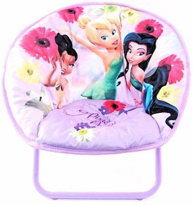 Disney Fairies Tinkerbell Folding Mini Saucer Chair