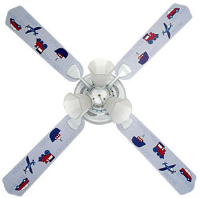 Out of Stock Transportation Childs Ceiling Fan with Lights