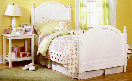 Twin Bed with Frame