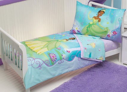 Disney Princess The Frog Toddler Bedding 4 Pc Set Disney