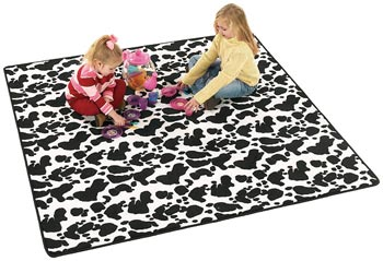Cow Town Kids Fun Carpet