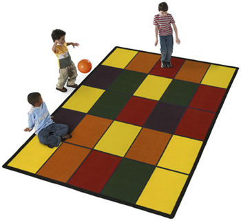 The Grid Children's 8 x 11 Feet Play Carpet