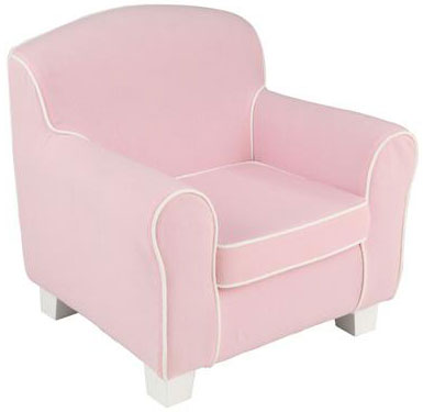 Laguna Childs Chair with Pink Piping